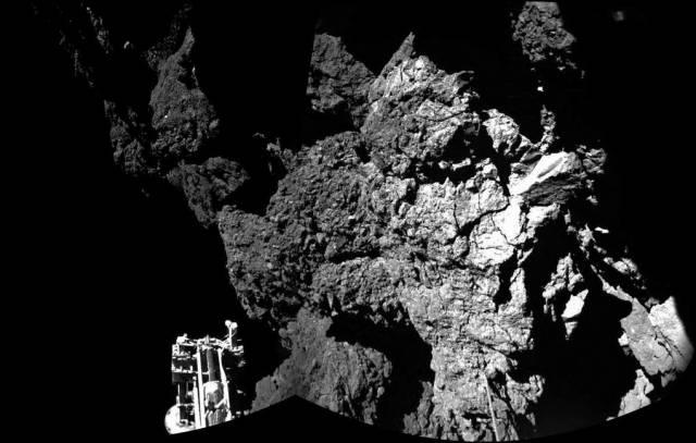 "Макет модуля ""Фила"" на комете Чурюмова-Герасименко"