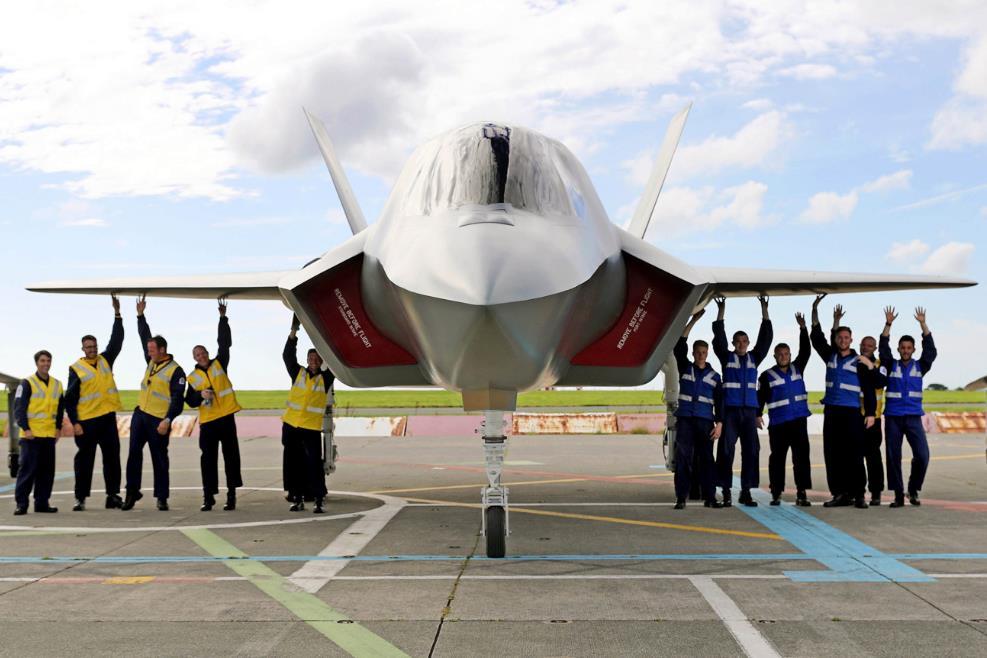 Макет истребителя F-35В Lightning II компании Gateguards (UK) Ltd i.