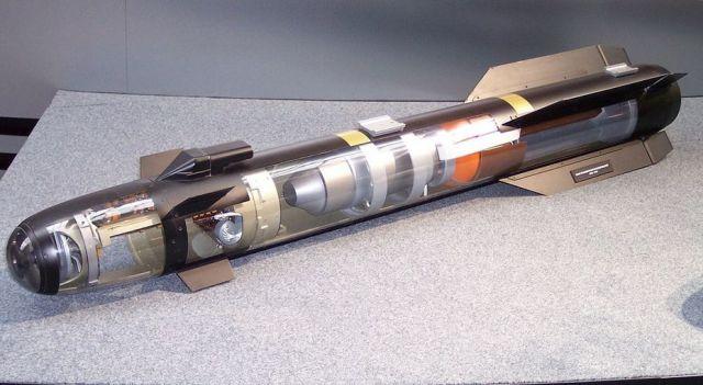 Макет ракеты AGM-114 Hellfire.