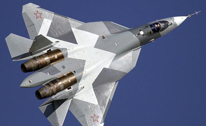 Малозаметный многоцелевой истребитель Т-50 (Су-57).