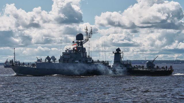"""Малый противолодочный корабль """"Казанец"""""""