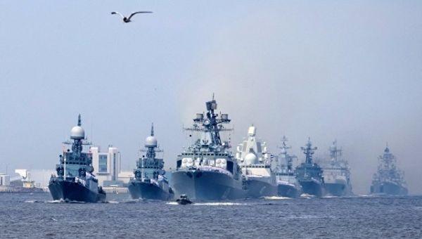 День ВМФ в Кронштадте