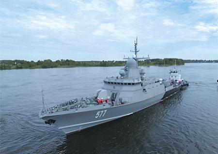 Малые ракетные корабли, вооруженные крылатыми ракетами, представляют сегодня грозную силу. Фото с сайта www.mil.ru