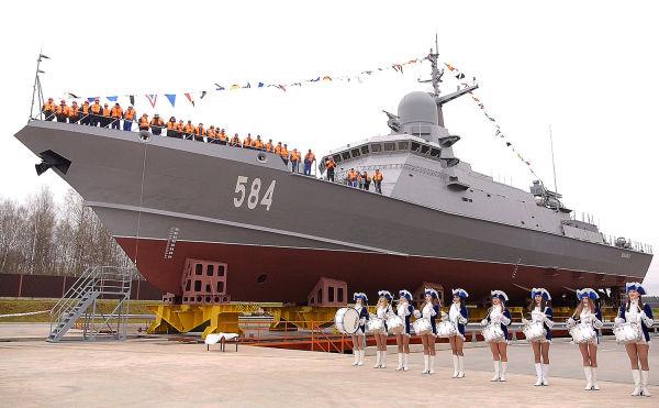 """Малый ракетный корабль проекта 22800 """"Шквал"""""""