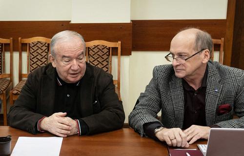Марк Белаковский (слева) и Александр Суворов