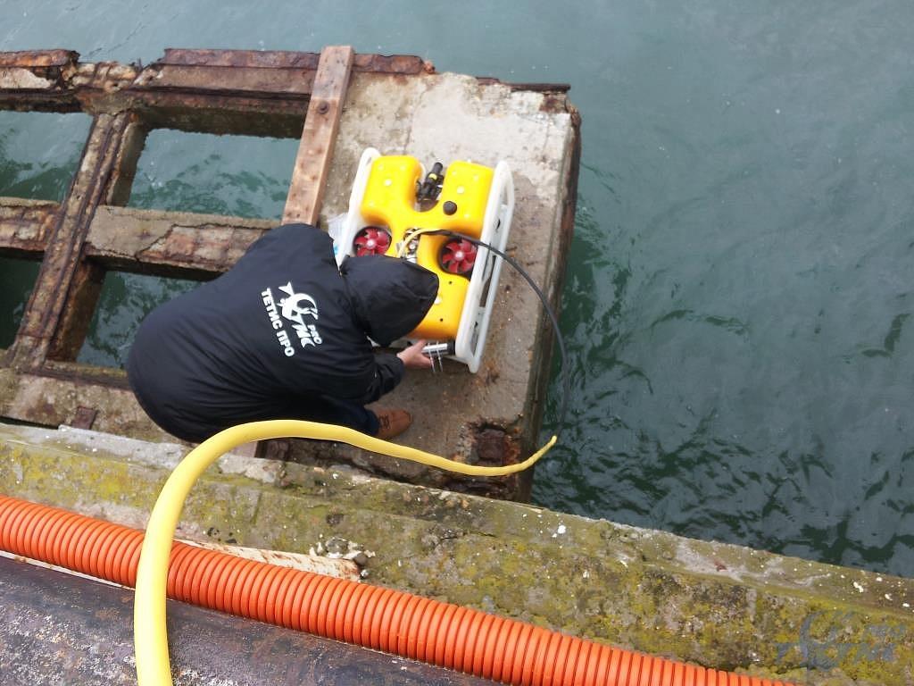 Государственные испытания необитаемого подводного аппарата «Марлин-350».