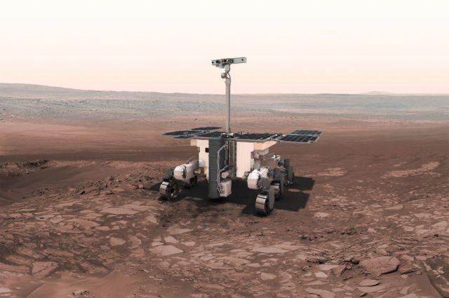 """Марсоход проекта """"ЭкзоМарс-2020"""""""