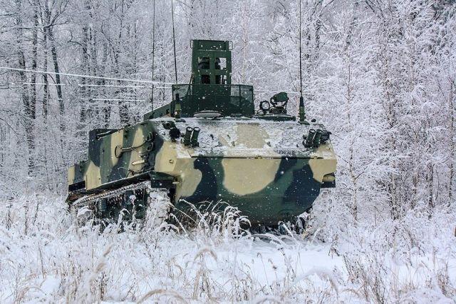 """Машина на базе десантного бронетранспортера БТР-МДМ """"Ракушка"""""""
