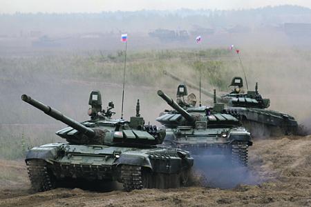 Масштаб стратегических маневров Москвы и Минска показал Западу готовность Союзного государства к отражению любой агрессии. Фото Вадима Савицкого