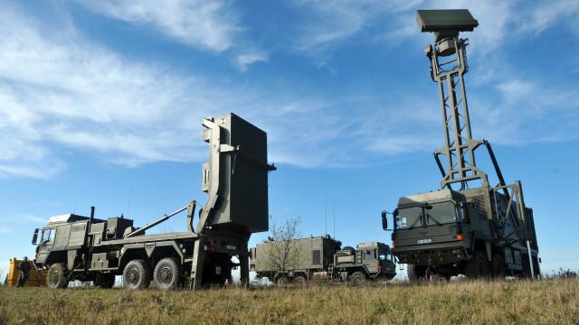 Зенитный ракетный комплекс MBDA VL-MICA.