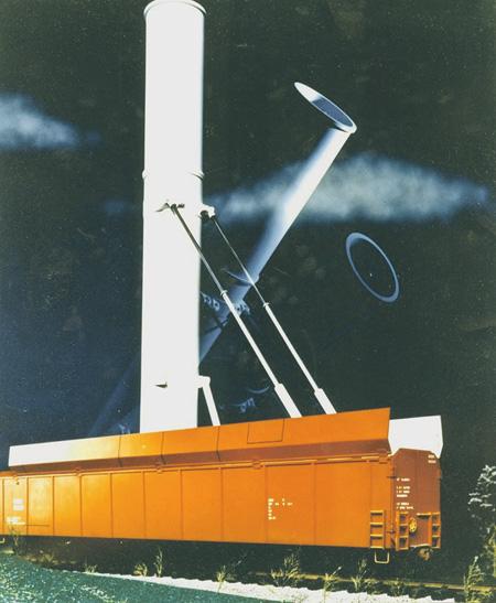 Железнодорожная пусковая установка с МБР «Минитмен».