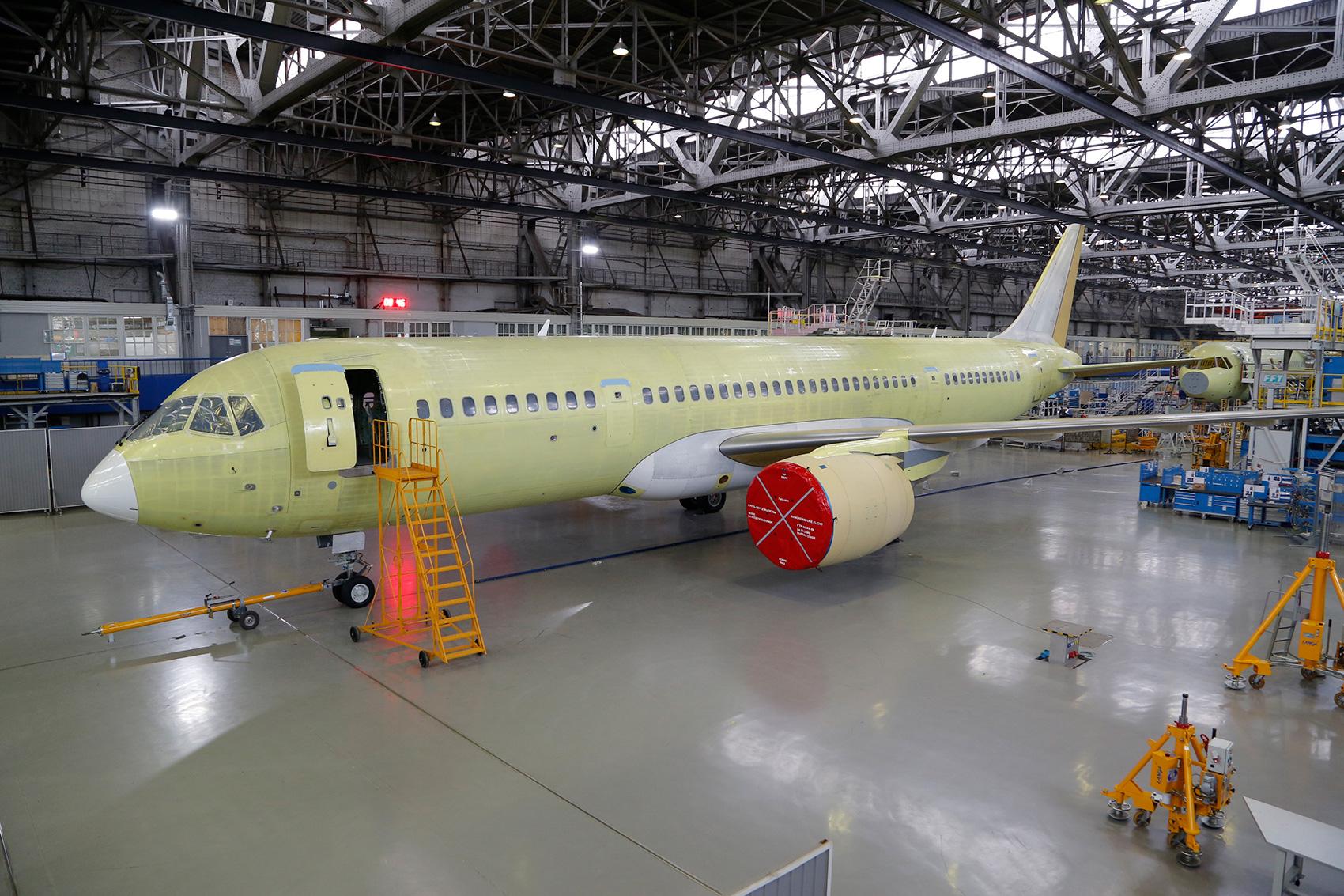 2-ой самолет МС-21-300.