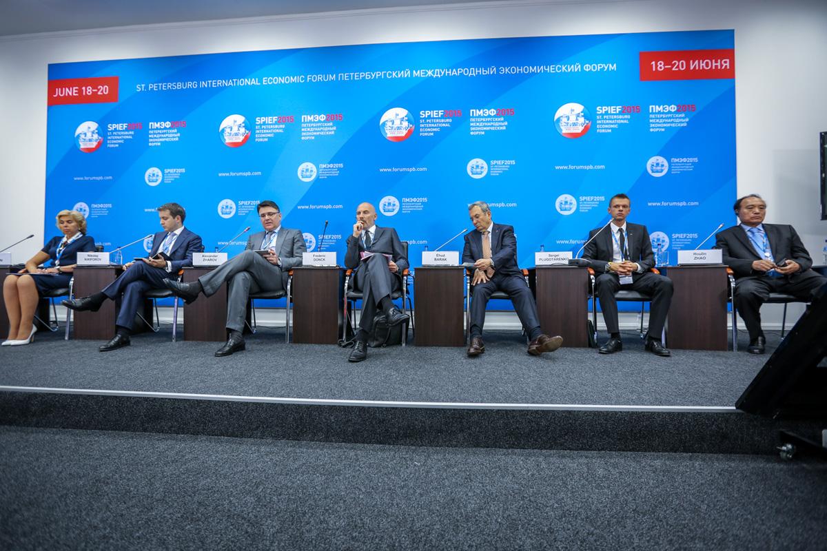 Панельная дискуссия «Построение эффективных систем кибербезопасности» на Петербургском международном экономическом форуме (ПМЭФ).