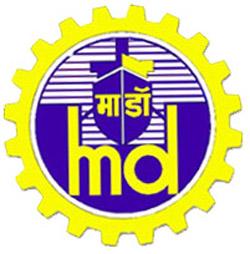 Логотип судостроительной компании Mazagon Dock Limited (MDL).
