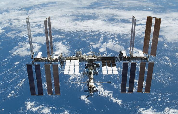 Международная космическая станция.
