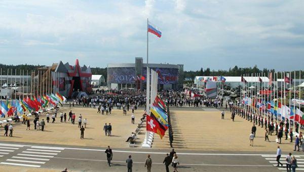 Международный военно-технический форум Армия-2017 в Московской области. Архивное фото