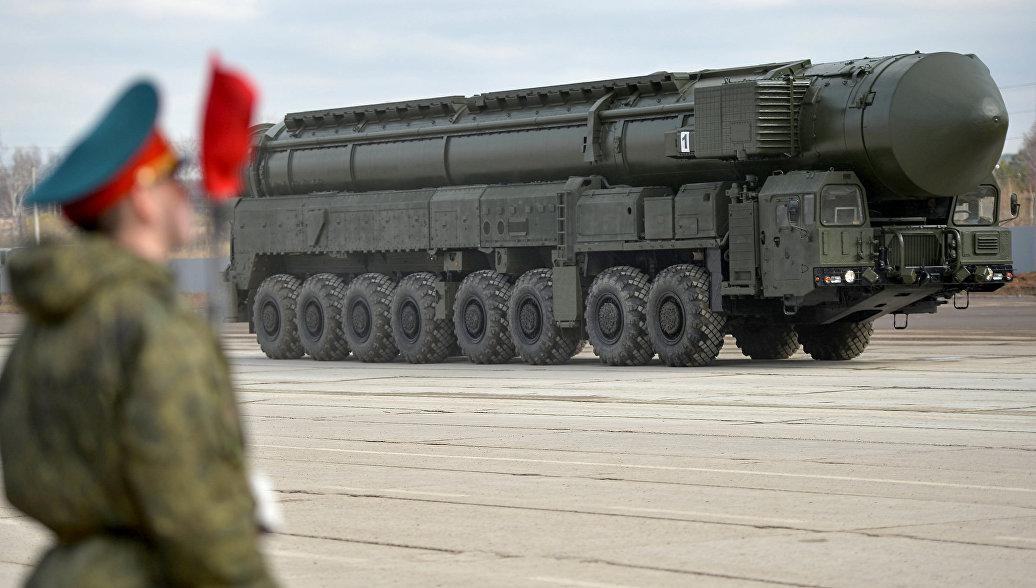 Межконтинентальная баллистическая ракета Ярс. Архивное фото.