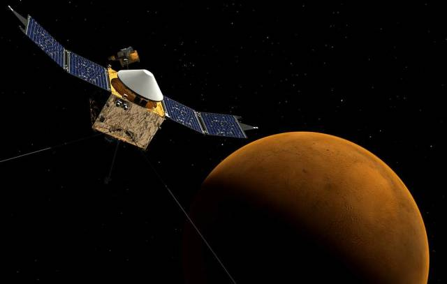Межпланетная станция MAVEN
