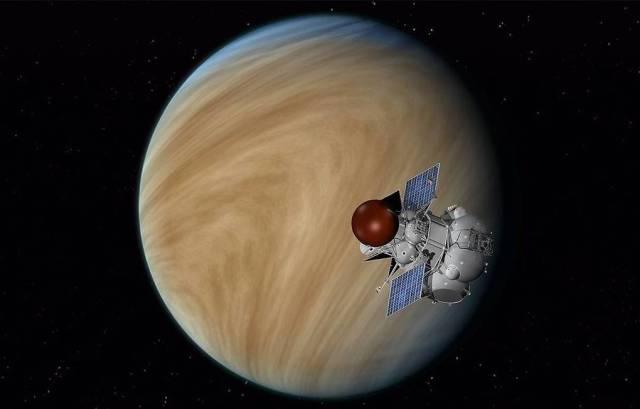 """Межпланетная станция """"Венера-Д"""""""