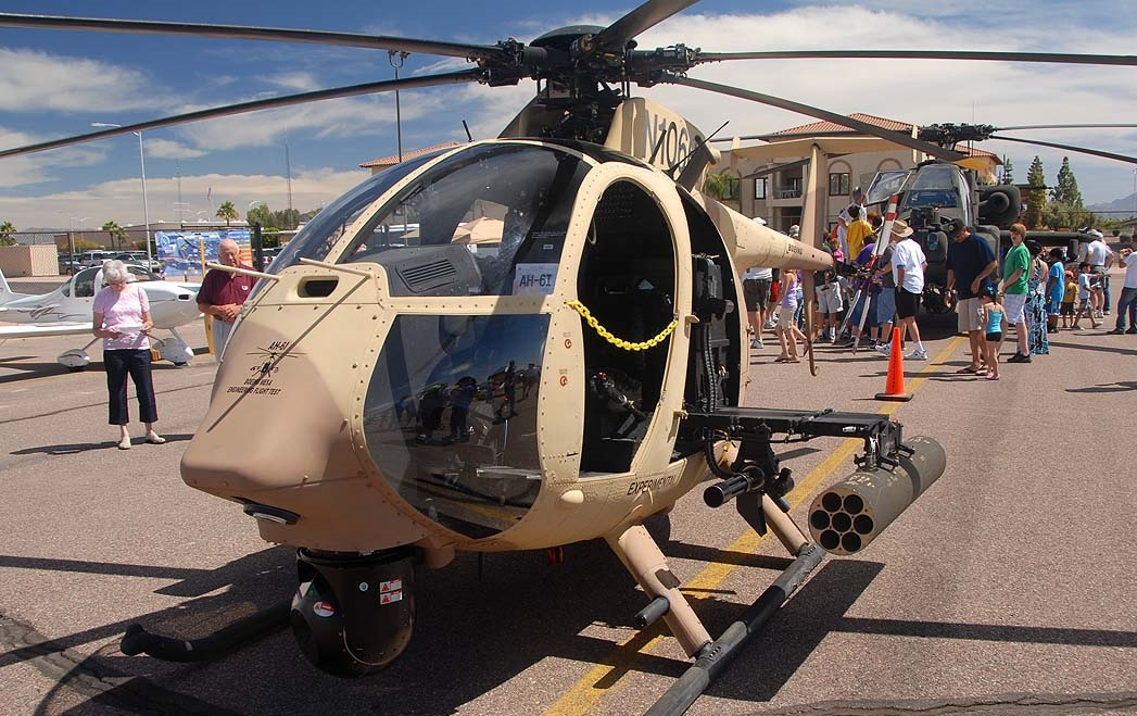 MD Helicopters MH-6 Little Bird.