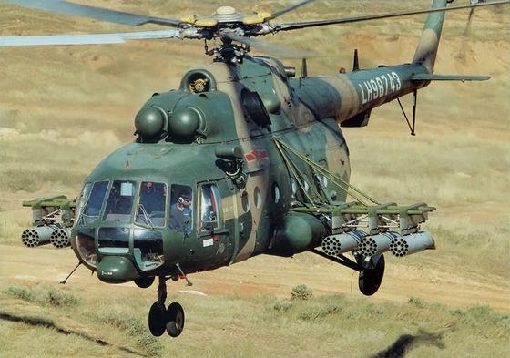 Многоцелевой вертолет Ми-17-1В<br>Источник: http://militaryphotos.net/