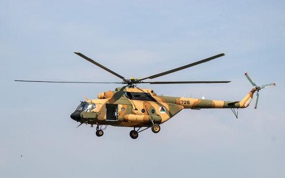 Ми-17 Афганистана