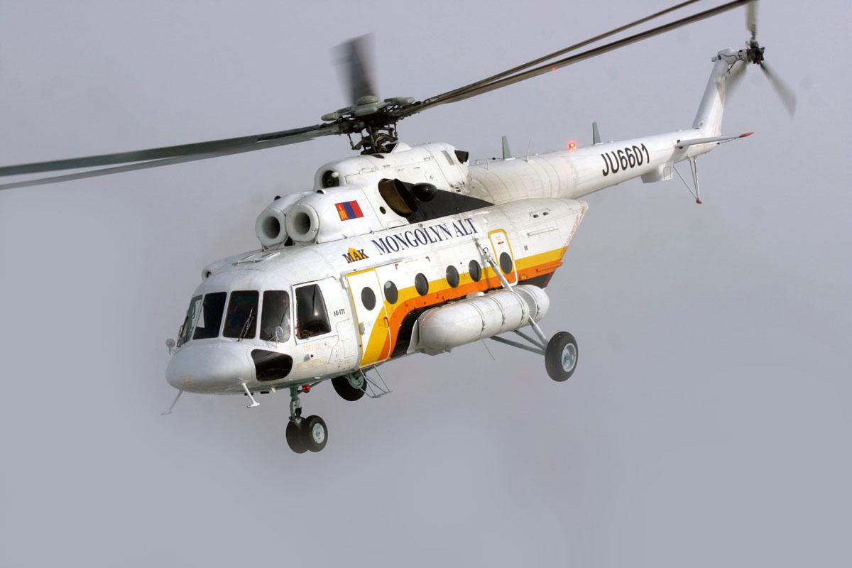Вертолет Ми-171 для «Монголын Алт (МАК) Корпораци».