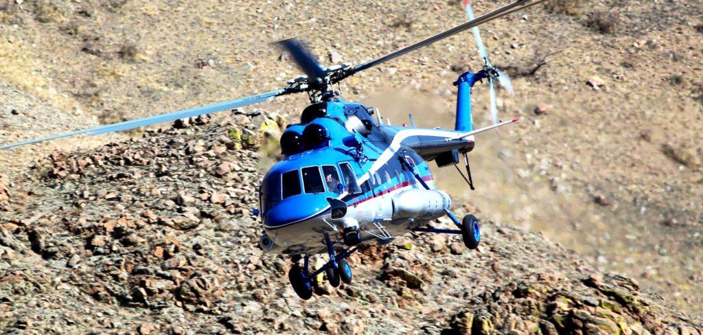 Многоцелевой вертолет Ми-171Е2.