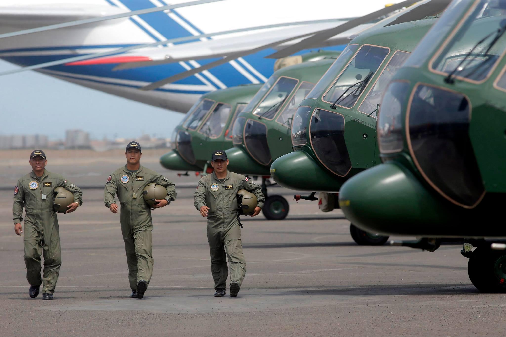 Вертолеты Ми-171Ш в Перу.
