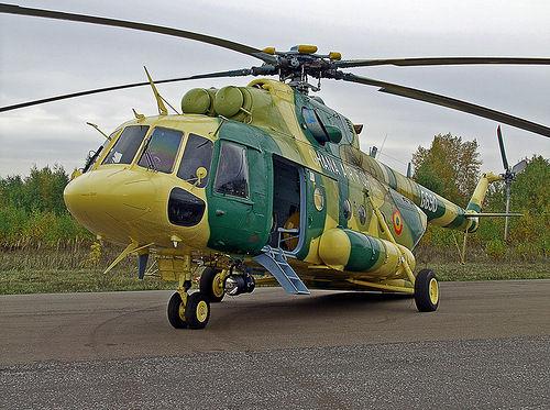 Mi-17 ВВС Ганы