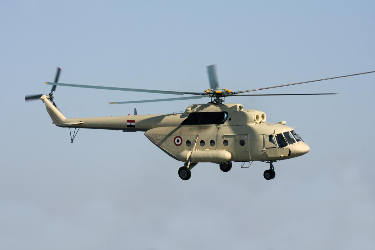 Вертолет Ми-17В-5 для Египта.