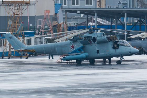Вертолет Ми-24К