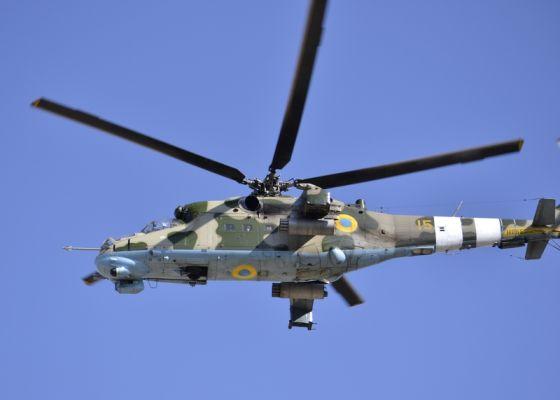 Вертолет Ми-24П