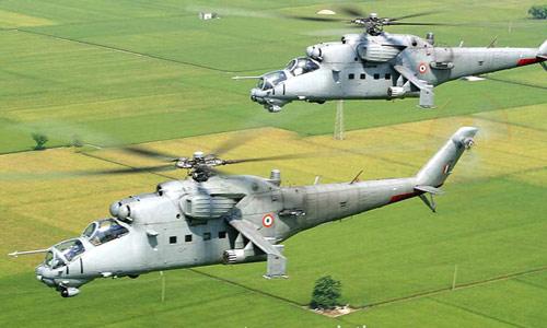 Вертолет Ми-25