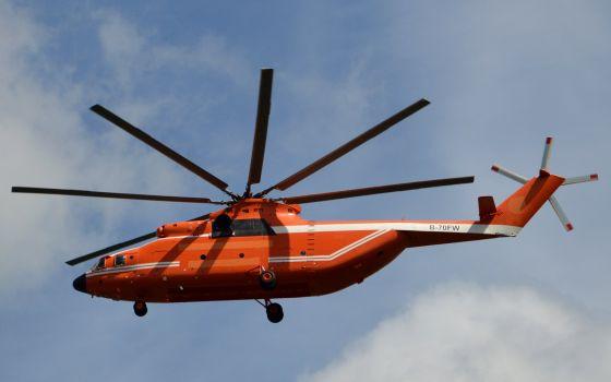 Вертолет Ми-26ТС