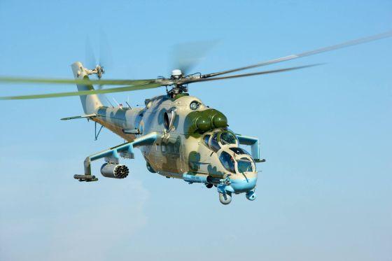 Вертолет Ми-24ПУ2