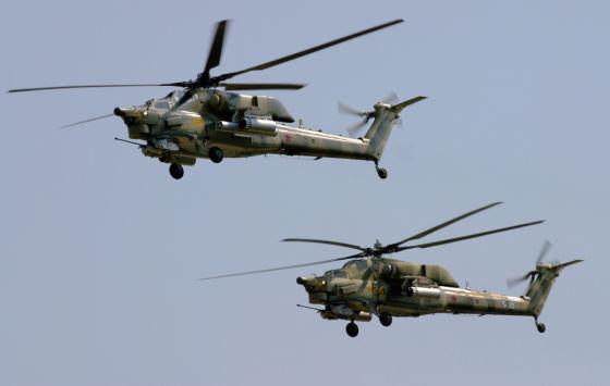 Ми-28Н Ночной охотник