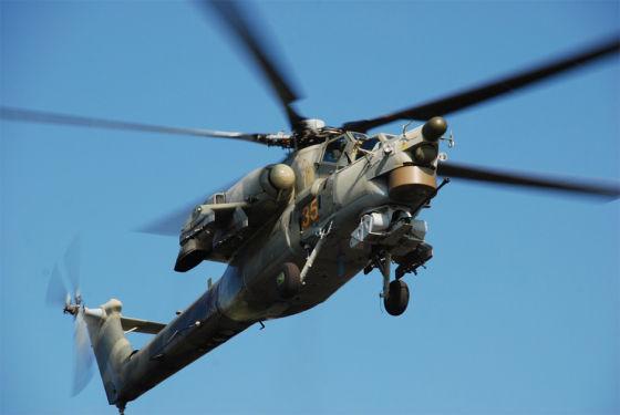 Ударный вертолет Ми-28Н