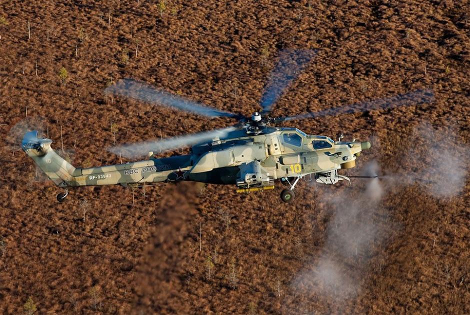 Вертолет Ми-28Н «Ночной охотник».