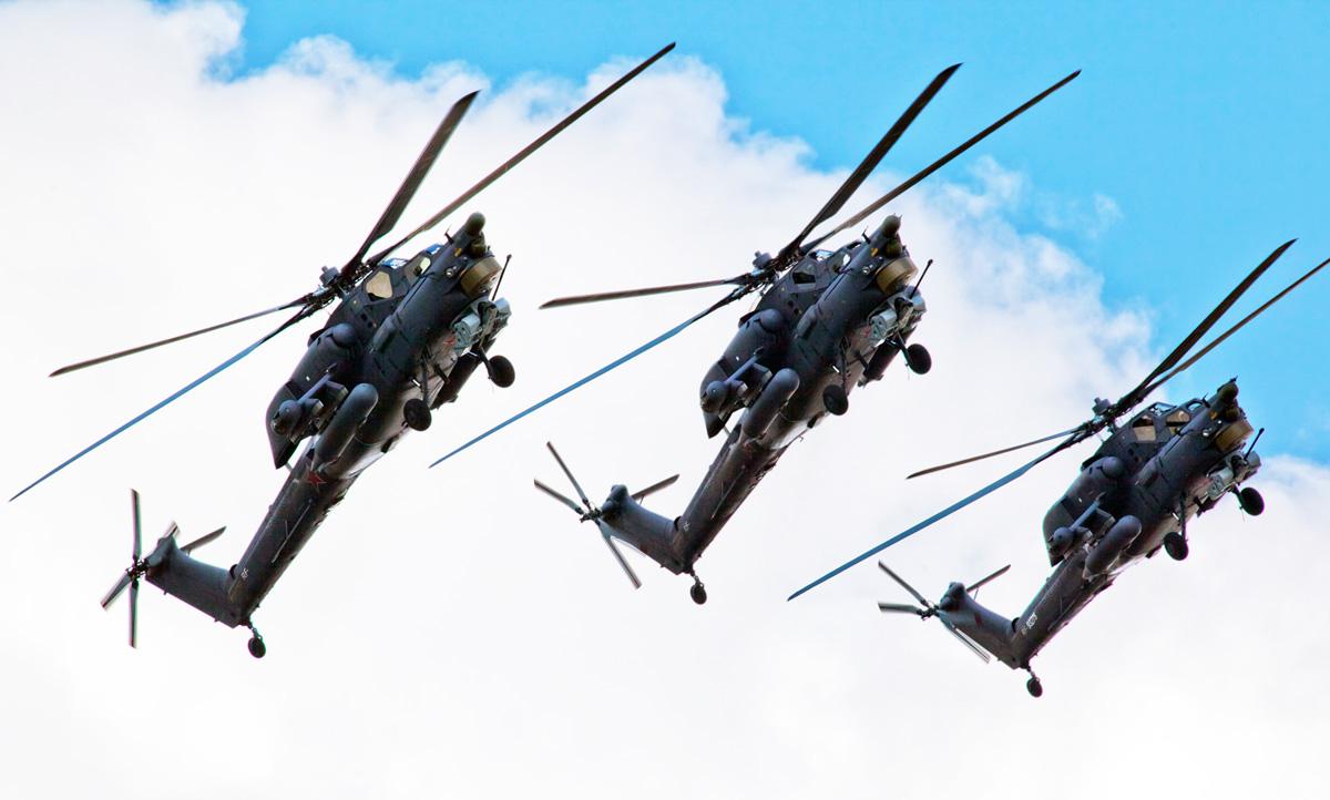 Боевой вертолет Ми-28Н «Ночной охотник».
