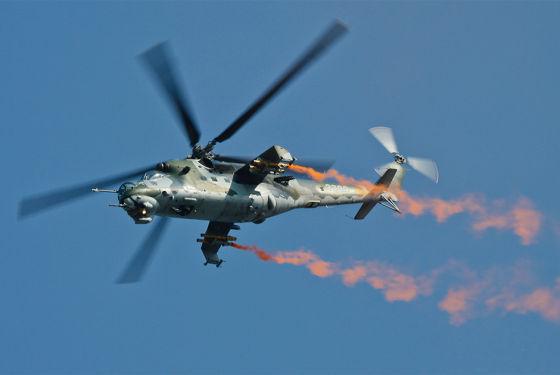 Вертолет Mи-35