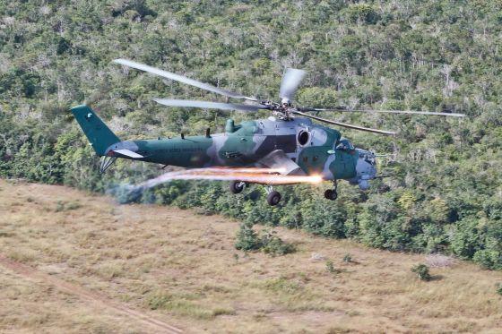 Боевой вертолет Ми-35М