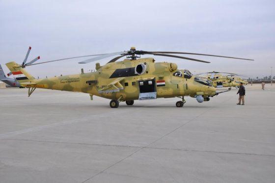 Ми-35М ВВС Ирака