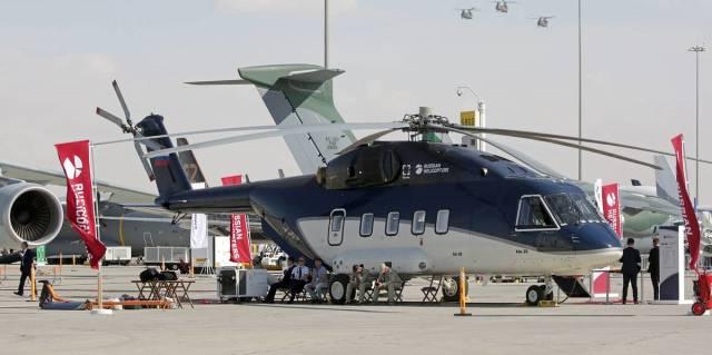 Ми-38 VIP-версии на Международной авиационно-космической выставке Dubai Airshow
