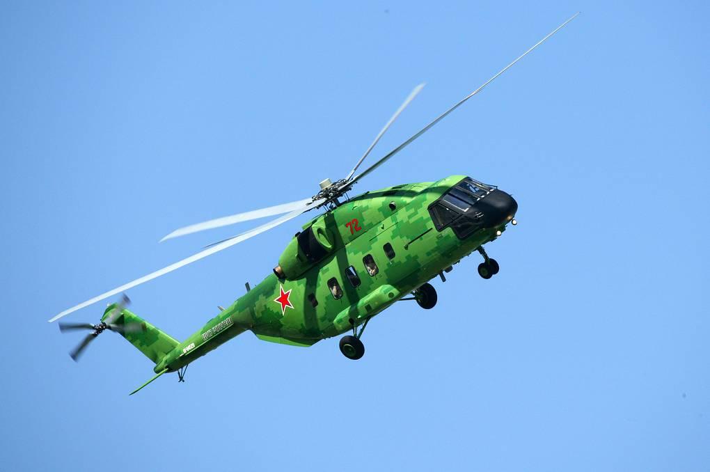 Вертолет Ми-38 оснастят уникальной противообледенительной системой
