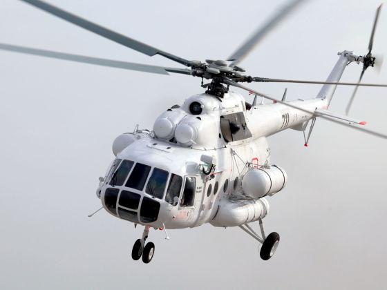 Ми-8АМТ ГККП «Службы спасения города Алматы»