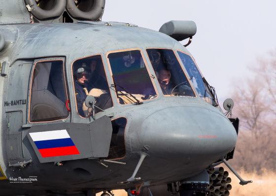 Вертолет Ми-8АМТШ