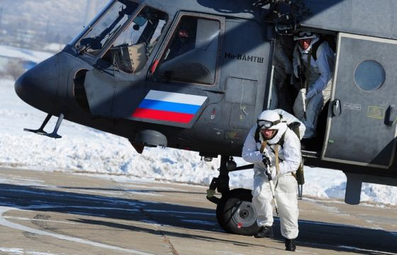 Военнослужащие ВДВ ВС РФ