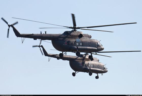 Вертолеты Ми-8МТПР-1