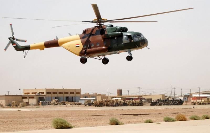 Ми-17 ВС Ирака.